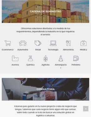 Página Web Responsiva Senter Tablet