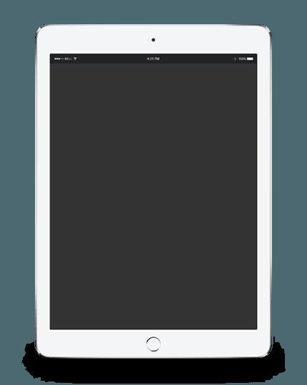 Imagen de una Tablet